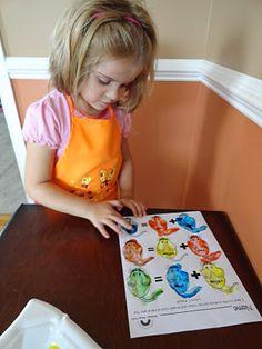 Mouse Paint Color Ideas