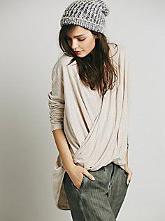 Ease Up Wrap Top