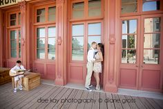 styled engagement session in Old Sacramento, CA - by Dee Kay Photography