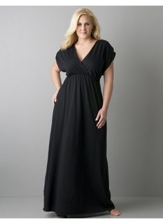 plus size clothing | Sleeved-plus-size-maxi-dresses-Fashion-Tips-Max-style-with-Plus-Size ...