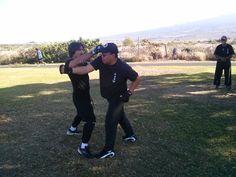 Actor, Screenwriter, Martial Artist, John Fusco visits Pacific Wing Chun Associaiton Hawaii.