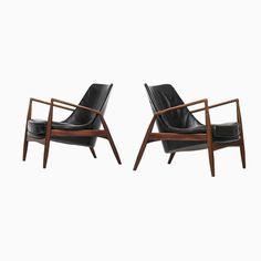 Sälen Seal Chairs von Ib Kofod-Larsen für OPE, 2er Set Jetzt bestellen unter: https://moebel.ladendirekt.de/kueche-und-esszimmer/stuehle-und-hocker/armlehnstuehle/?uid=14a66e5c-d1b9-57d1-9309-3355e1633bd3&utm_source=pinterest&utm_medium=pin&utm_campaign=boards #kueche #esszimmer #armlehnstuehle #hocker #stuehle
