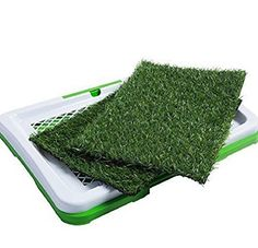 OxGord Puppy Pad Holder Training Indoor Pee Potty Trainer Litter Box Includes 2 Synthetic Grass Pee Pads for Pet Cat Puppy Outdoor Restroom Patch * For more information, visit image link. (This is an affiliate link) Dog Training Pads, Training Your Dog, Training Tips, House Breaking Dogs, Potty Trainer, Dog House Plans, Dog Smells, Puppy Pads, Dog Potty