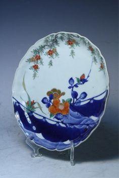 pinterest Japanese plates | 129: Japanese Imari Porcelain Plate : Lot 129