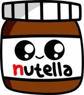 Cute Animal Drawings Kawaii, Cute Little Drawings, Cute Food Drawings, Cute Cartoon Drawings, Sweet Drawings, Art Drawings For Kids, Food Drawing Easy, Doodles Kawaii, Cute Doodles