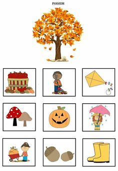 Educational Activities, Book Activities, Fall Crafts, Crafts For Kids, Seasons Activities, Fallen Book, Kids English, Preschool Education, Montessori Materials