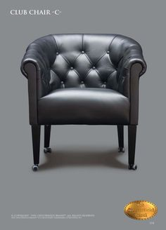Couch Furniture, Chesterfield Chair, Club Chairs, Leather Sofa, Sofas, Accent Chairs, Wood, Home Decor, Nails