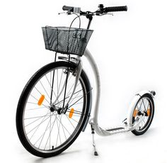 Kick bikes are awesome!!!  Great city transportation and an amazing way to tone thighs and glutes.
