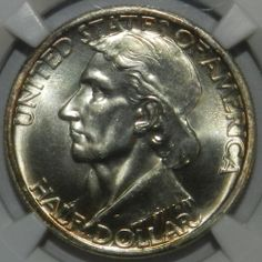 1935/34 BOONE COMMEMORATIVE HALF DOLLAR NGC MS67 (Supreme Gem) Only 2 Higher $1250.00 Free Shipping Only Two Out of 10.000 minted Graded Higher Next Grade up $40,000.00