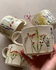 Latest Screen Clay Pottery mugs Ideas mentions J'aime, 87 commentaires – Hessa Al Ajmani mentions J'aime, 87 commentai Clay Crafts, Diy And Crafts, Arts And Crafts, Ceramic Pottery, Ceramic Art, Ceramic Mugs, Clay Mugs, Slab Pottery, Ceramics Pottery Mugs