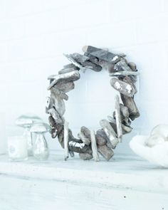 Sweet Paul's Driftwood Wreath -- remember to collect driftwood at the beach this summer!