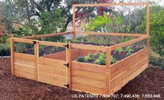 Charmant Ready Made Vegetable gardens With Raised beds, Bunny Proof Fencing