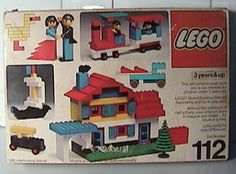 Ahhh - Lego Universal Bulding Set 112 - this was the first Lego set I ever owned - this is where the addiction started