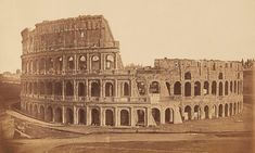 Incredible 180-year-old photos reveal Rome's ancient treasures Historical Sites, Historical Photos, Under The Hammer, Trevi Fountain, Museum Exhibition, Grand Tour, Ivory Coast, Ancient Rome, North Africa