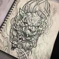 foo dog tattoos designs fu dog meaning the guardian lions foo dog tattoo meanings history ideas 45 best foo dog … Small Japanese Tattoo, Japanese Tattoo Women, Japanese Tattoo Symbols, Japanese Dragon Tattoos, Traditional Japanese Tattoos, Japanese Tattoo Designs, Japanese Sleeve Tattoos, Japanese Demon Tattoo, Tattoo Japanese Style