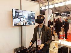 Découverte d'un appartement virtuel sur l'HTC Vive