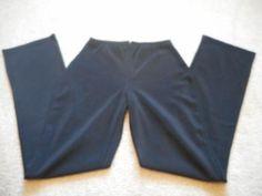 Black-Stretch-Dress-Pants-Moda-International-from-Victoria-039-s-Secret-Size-6
