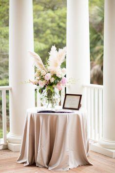 Guest book table | Kiawah Island Wedding