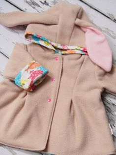 Bunny Jacket Girls Clothing Baby Girl Bunny by LottieandLysh