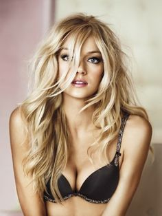 Watch the Victoria Secret Show last night and now envious of their hair. Get this look of Lindsay Ellingson - VS model with French Haircutting and Balyage highlighting! Modelos Victoria Secrets, Blonde Balayage, Blonde Hair, Blonde Redhead, Sandy Blonde, Blonde Highlights, Lindsay Ellingson, Lindsay Lohan, Victoria's Secret