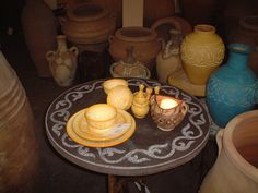 Tea Lights, Candles, Fossils, Atelier, Terracotta, Morocco, Tea Light Candles, Candy, Candle Sticks