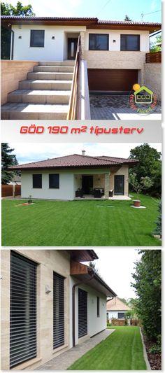Göd 190 m2 típusterv2