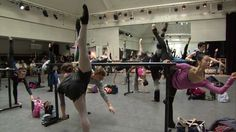 Royal Ballet Daily Class (complete video) Royal Ballet LIVE, via YouTube.