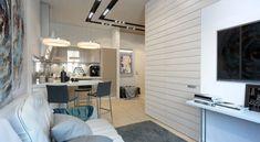 extrem kleine Zweiraumwohnung mit schickem Interieur Design - fresHouse