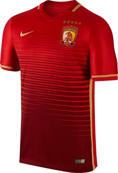 The new Guangzhou Evergrande 2016 Home Kit boasts a stunning all-over graphic print to stand out.