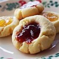 Cream cheese butter cookies: easy and delicious! (I like to substitute some of the flour with almond meal.)