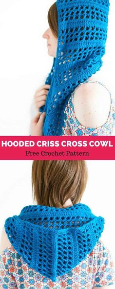 Craft Passions Hooded Scarf With Pockets Free Crochet Pattern