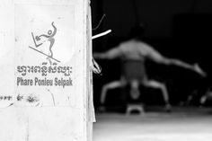 """[series by Jérémie Lusseau] Social Circus. Phare Ponleu Selpak is a social center and art school in Battambang, Cambodia. Translated as """"the brightness of art,"""" the center offers training in fine and performing arts to disadvantaged youths to help them combat poverty and discover their potential."""