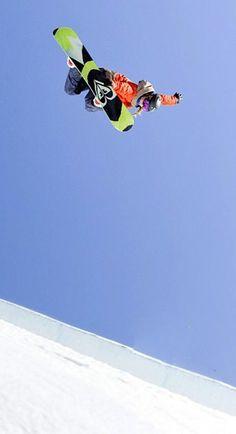 Torah Bright rides above the rest #DAREYOURSELF #ROXYsnow #TBT #ThorwbackThursday