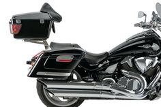 REF.AR0010N-AR0011N+MT0007N - Alforjas Rígidas Modelo American/ Rigid Saddlebags Model American