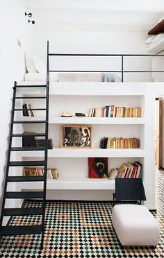 Loft beds have been stylishly storing the bedroom up high while reclaiming much-needed space in small homes for a long time. If you still haven't tried this small space idea out yet, this could be your year. Not only for homes with super tall ceilings, today's modern loft beds are simple, stylish, but most importantly, space-maximizing. Consider these ideas for your own loft bed plans this year!