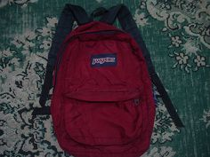 Maroon Jansport Backpack