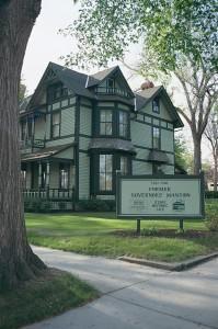 Former Governor's Mansion in Bismarck, ND