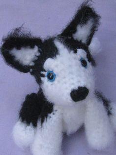 husky crochet