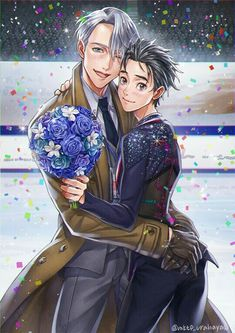 Happy end yuri and viktor on ice