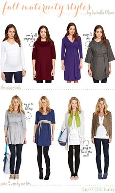 The first installment in our virtual baby shower: fashionable and practical fall maternity clothes + a $200 gift certificate giveaway!
