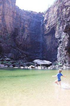 Kakadu National Park, Australia: Life's a Beach at Jim Jim Falls, Northern Territory Kakadu National Park, National Parks, Places To Travel, Places To See, Travel Around The World, Around The Worlds, Australia Holidays, Australia Tourism, Need A Vacation