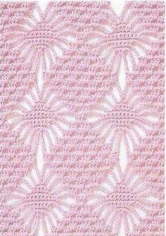 schemi Baby Afghan Patterns, Baby Afghans, Knitting Patterns, Crochet Patterns, Filet Crochet, Crochet Stitches, Crochet Bikini Pattern, Crochet Videos, Crochet Baby