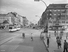 Germany Berlin (West) Wedding - 'Seestrasse' at the corner 'Muellerstrasse'. - um 1955
