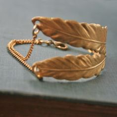Feather Claw Bracelet by chain chain chained