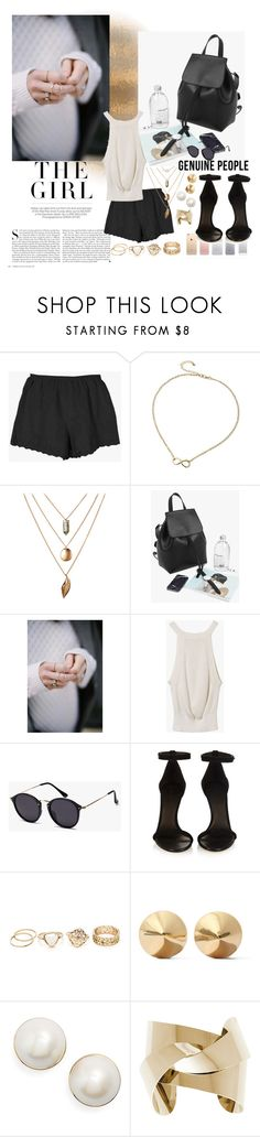 """""""minimal look"""" by nicolepuppy ❤ liked on Polyvore featuring Kershaw, Isabel Marant, Eddie Borgo and Kate Spade"""