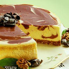 Marbled Cheesecake  #cheesecake