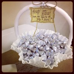Did this for my son's wedding rehearsal dinner (dessert table)...