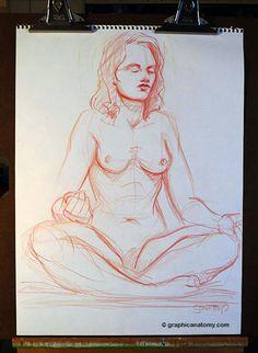 meditating model