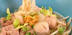 This is up there with the my favourite thai dish:   Thai Pork Noodle Soup