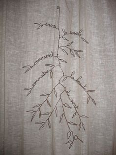 branch could make branch mobile? Creative Arts And Crafts, Crafts To Make, Sculptures Sur Fil, Wire Sculptures, Boli 3d, Chicken Wire Art, Art Fil, Bijoux Fil Aluminium, 3d Pen